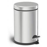 Ведро для мусора с педалью 3 л металлическое Догрулар 83001 (8)